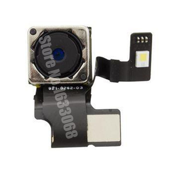 100% Guarantee Original New Repair Parts 8.0 Mega Pix Back Rear Camera With Flash Module Flex Cable Ribbon for iPhone 5 5G