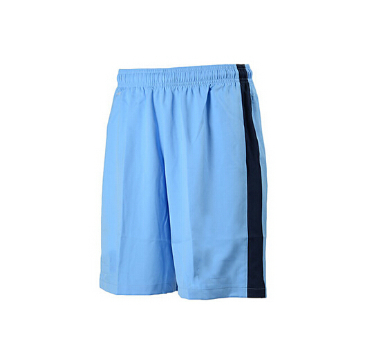 Cheap football shorts manchester sky blue soccer short men national team manchester short club wholesales have SPONSOR TEAM LOGO(China (Mainland))