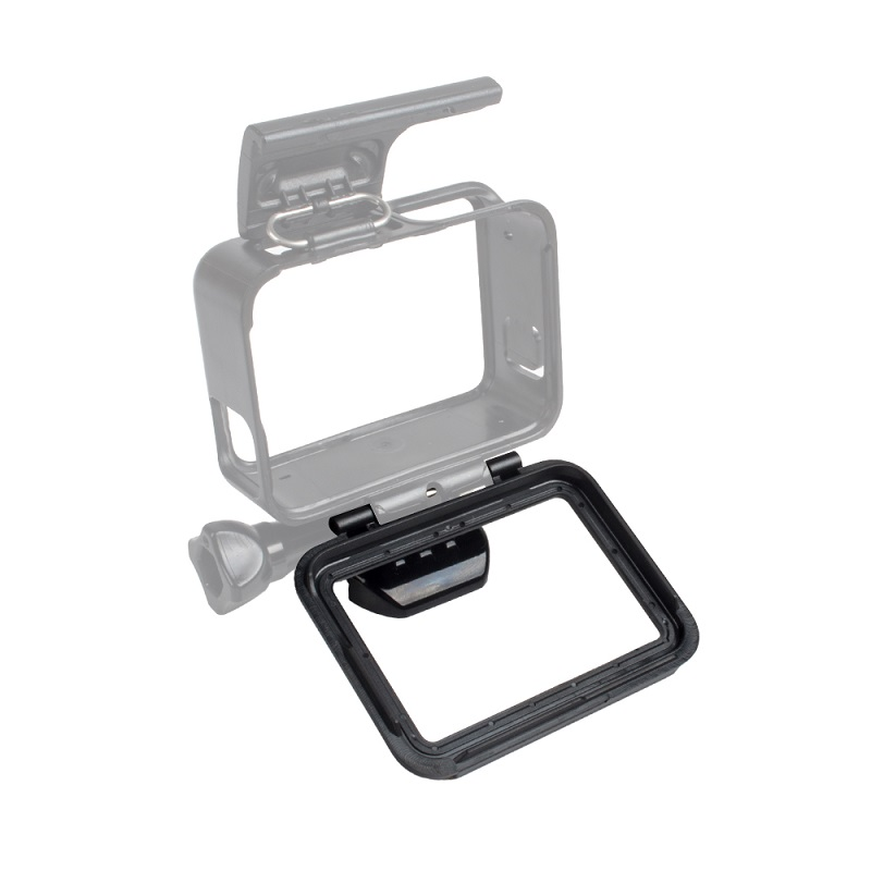 Go pro Accessories Gopro5 Protective Frame Housing Case Backdoor Cover Back Door Replacement Cap For GoPro Hero 5 Action Camera(China (Mainland))