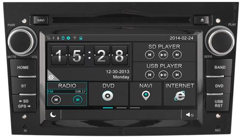 FOR OPEL MERIVA(2006-2010) CAR DVD GPS Player car stereo car audio head unit Capacitive Touch Screen SWC DVR car multimedia<br>