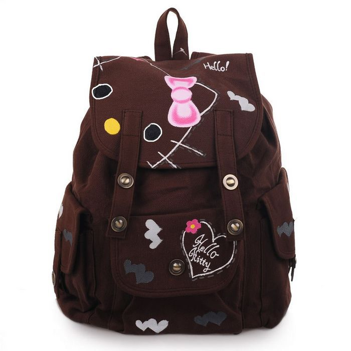 women&men travel backpack outdoor camping climbing hiking hand painted sport bag YC-CB118 - High fashion street store