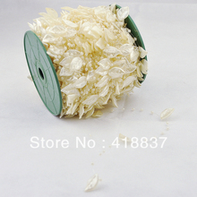 STOCK New Arrival 60meters/lot Ivory leaf Pearl Beads Garland Wedding Centerpiece Party Decoration Crafting DIY Accessory(China (Mainland))