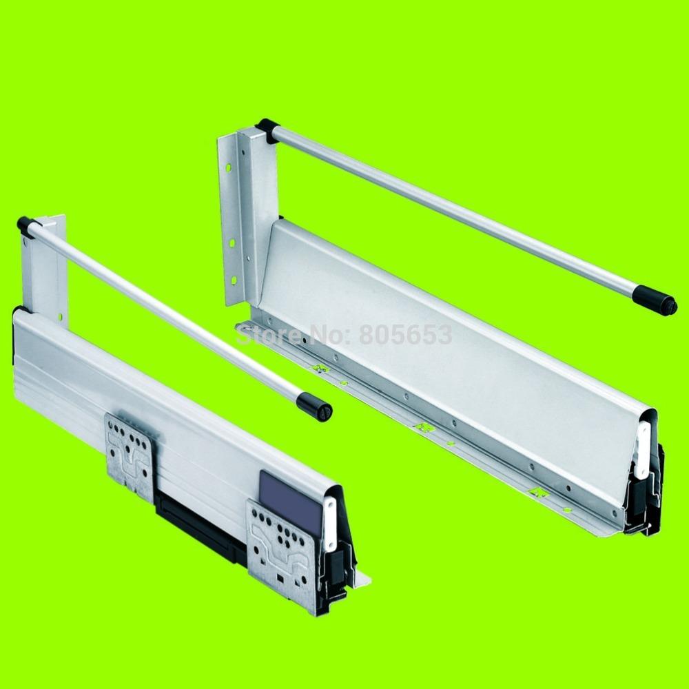 22 inch silent undermount soft close drawer slides (DS8112-22)
