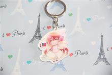 Japan Cartoon Axis powers HETALIA Hungary Cute Girl Figurine Keychain Figure Key Rings Boys Girl Birthday Gift