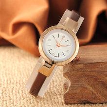 Minimalista Moda Mulher Bracelet Watch Presentes De Aniversário Lembrança de Viagem Elegante Meninas Presente Mulheres Relógio de Pulso Relógio Relogio feminino(China)