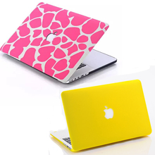 Fashion Matte Colorful Hard Protector Case For MacBook Air 11 Pro 13 / 15 inch with Retina + free Keyboard Cover Free Shipping(China (Mainland))