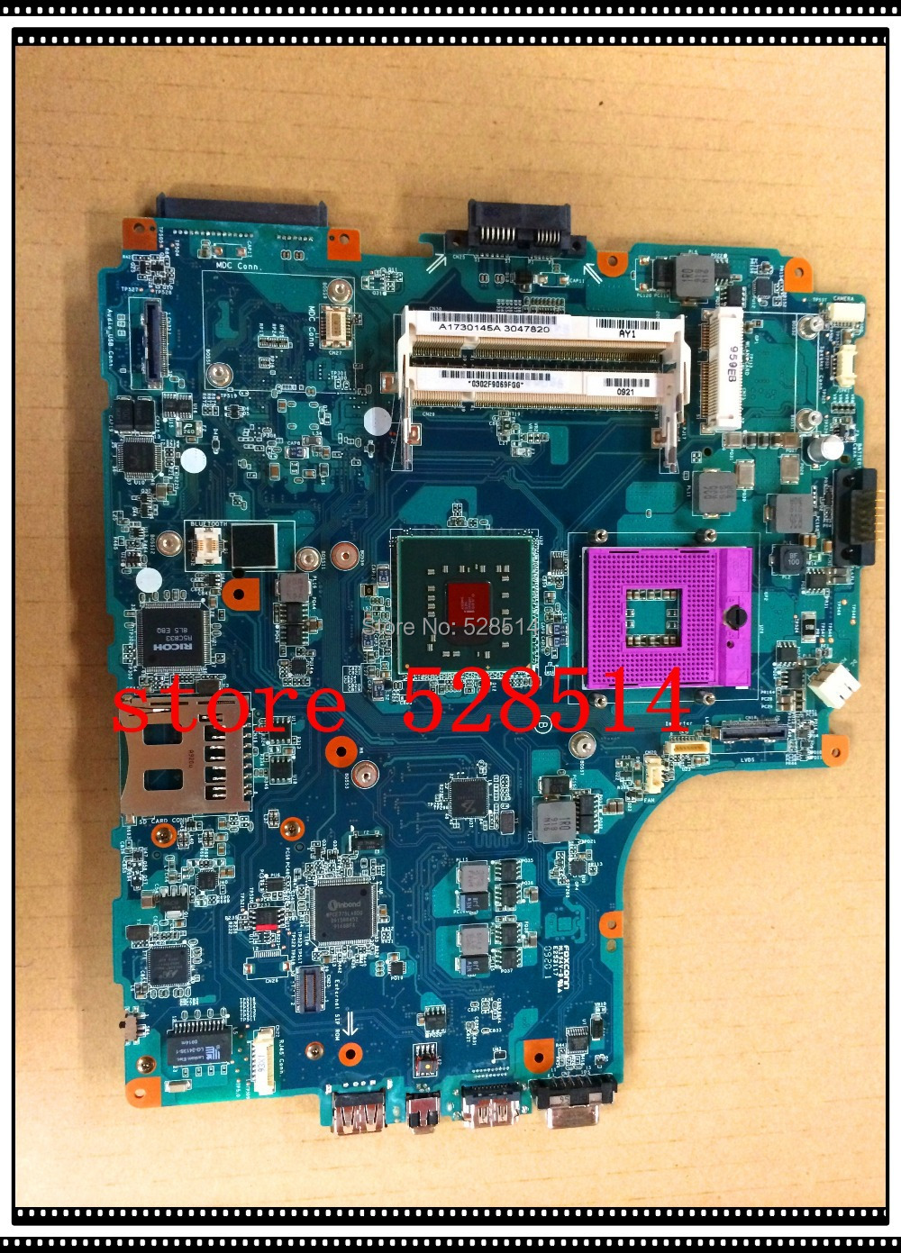 original MBX-205 LAPTOP MOTHERBOARD FOR SONY m850 MAIN BOARD 1p-0094j00-6011 A1730145A 100% Test ok<br><br>Aliexpress