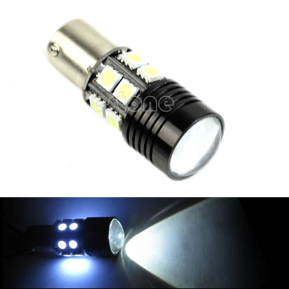 Габаритные огни Other Cree R5 + 12SMD 1156 BA15S 1141 12W
