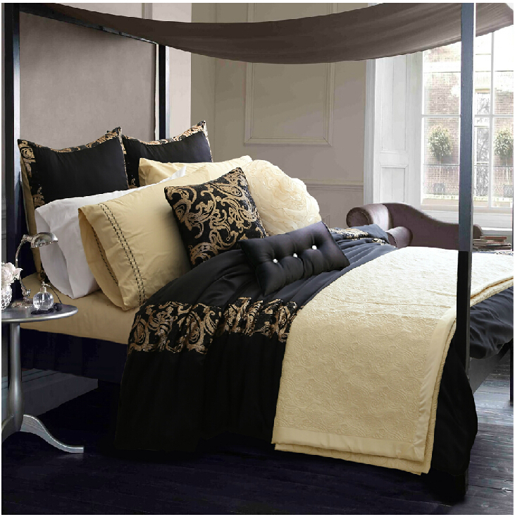 Free Shipping! Adream Tribute Silk /Cotton Reactive Printing Duvet Cover Set Queen Bedding Set 3pcs(China (Mainland))