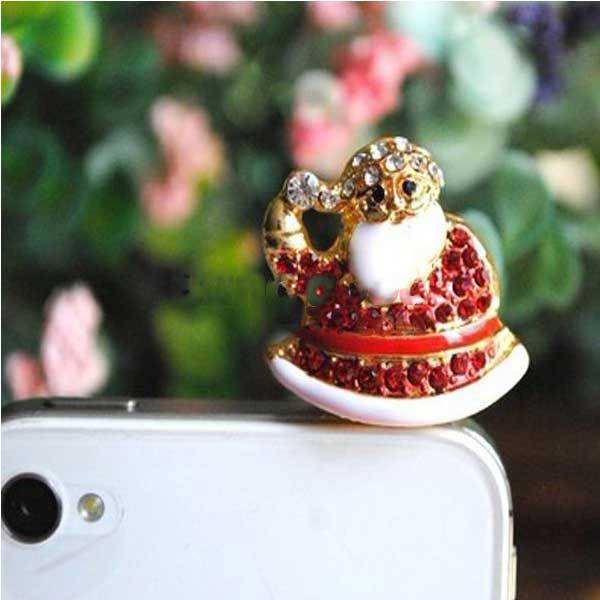 Downey Mobile Phone Decorations Christmas Ornament Dust Plug In Dust Plug From Phones