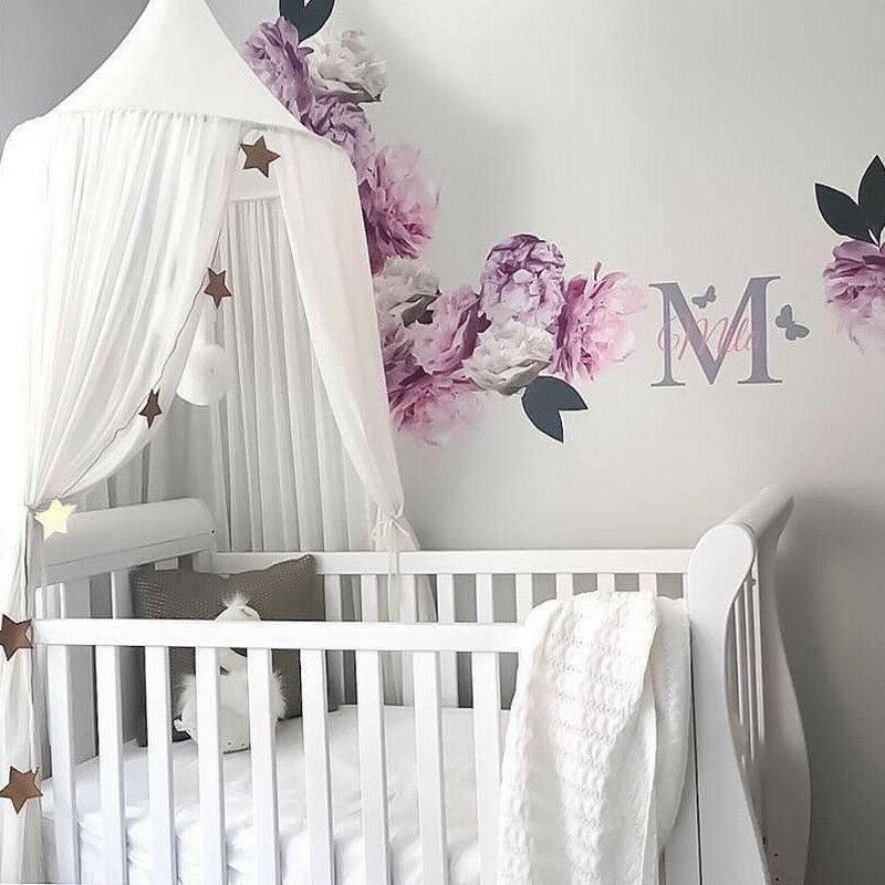 Детская кровать навес покрывало сетка занавеска от насекомых постельные