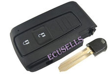 NEW Smart Remote Key Fob Case 2 Button for Toyota Prius + Uncut Insert key(China (Mainland))