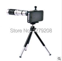 Envío gratis 12 times teléfono telescopio monocular