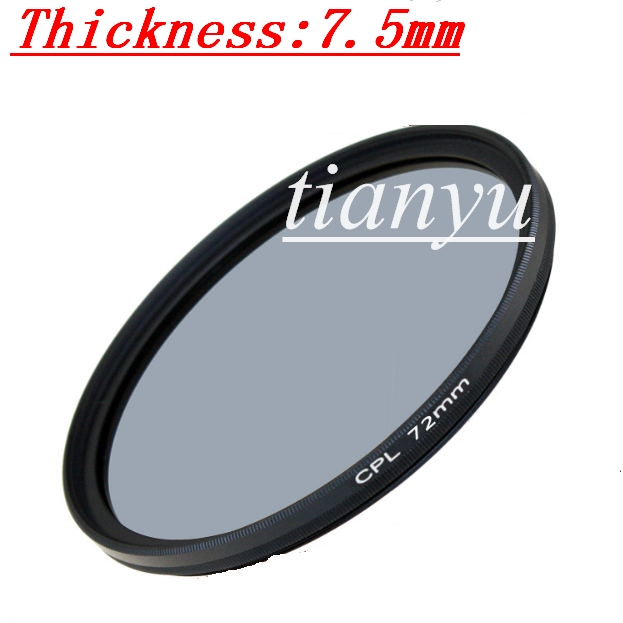High Quality Glass CPL Filter 72mm Slim Camera Lens Protector Filter Free Shipping<br><br>Aliexpress