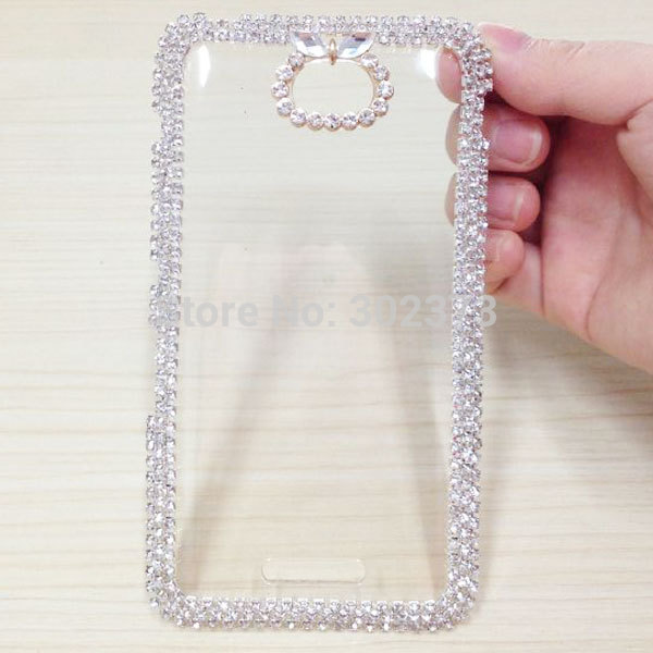 Cute Bling Mobile Phone Cases Cover For Sony Xperia E4 Case Brand New Glitter Luxury Diamond Back Cover For Sony Xperia E4 Case(China (Mainland))