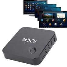 MXQ Android TV Box Quad Core Amlogic S805 1G RAM 8G ROM Smart TV Box KODI 14.2 full loaded Airplay APK & ADD-ONS Pre-installed
