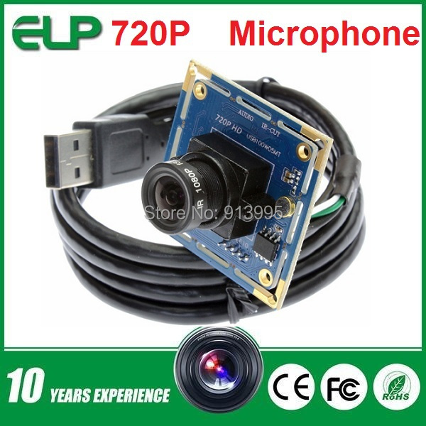 2 pieces wholesale 720p hd mini usb camera module with MIC microphone for PC computer ,laptop ,tablet, mobile phone,atm(China (Mainland))