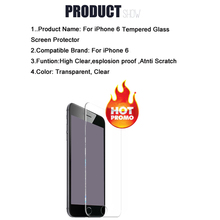 4.7 inch For Apple iPhone 6/6s Screen Protector Film 0.26mm 2.5D Explosion-Proof Ultra thin Slim Tempered Glass