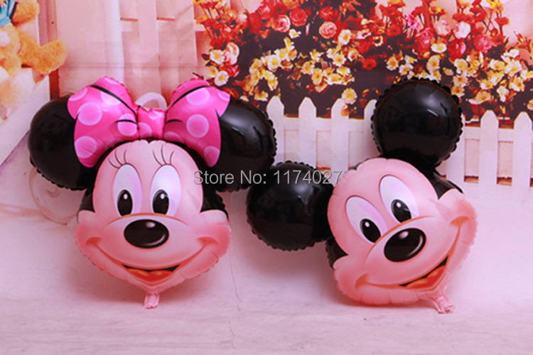 Гаджет  Free shipping cute mouse aluminum balloons Birthday Party Balloons Mouse Balloon Wedding Decoration Kids Gift Toy None Игрушки и Хобби