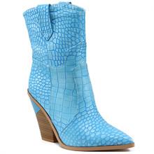 Doratasia marke frühling winter Ins heißer große größe 46 high heels frauen Schuhe Retro kurze stiefel slip auf frau schuhe western stiefel(China)
