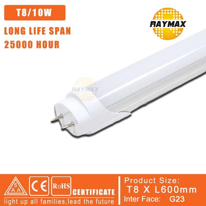 Free Shipping T8 600MM LEDTube light 110V lampada led 220V 10W Replace 20W Flourescent Tube Light lampada led 110V 100pcs/lot(China (Mainland))