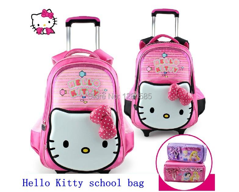 Aliexpress.com : Buy hello kitty pink rolling pull rod ...
