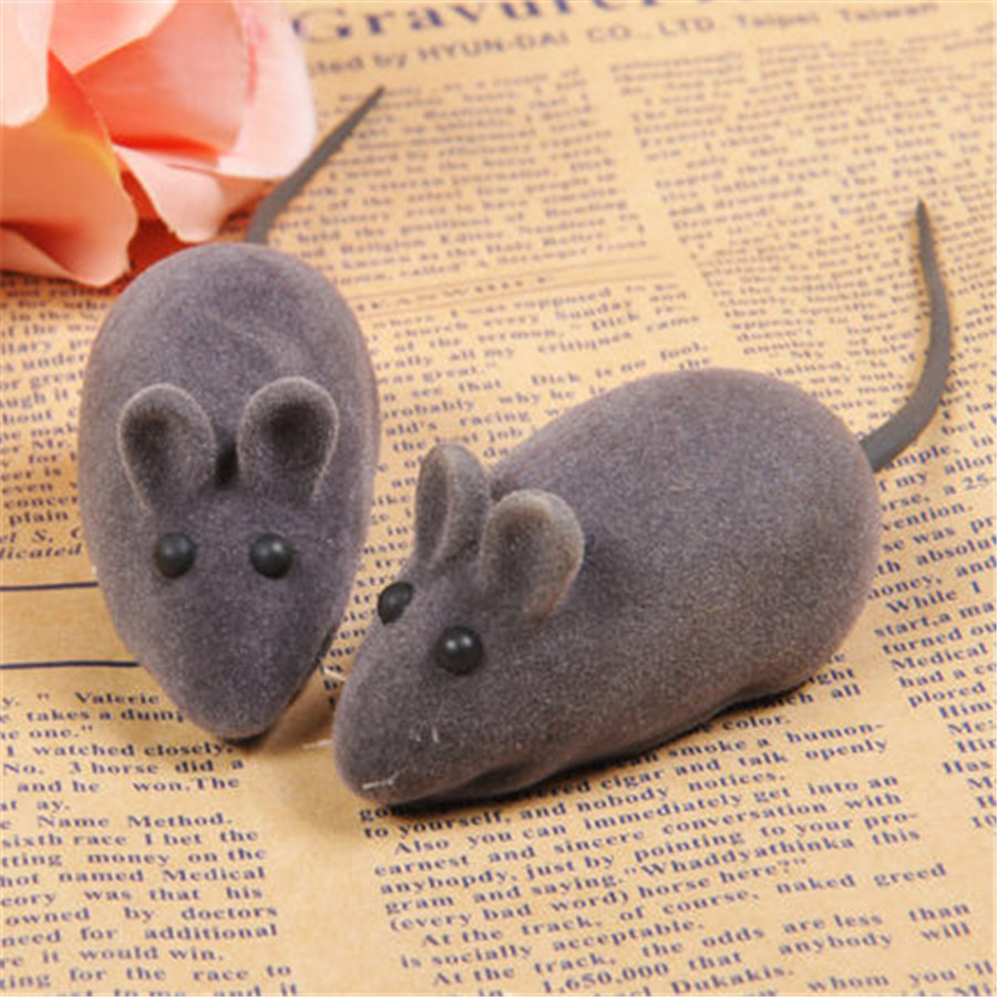 Soft Cat Dog Toy Interactive Mouse Gatos Pelucia Funny Animal Pets Supplies Stuffed Sound Toy Hamser Product For Kittens DDMYX59(China (Mainland))