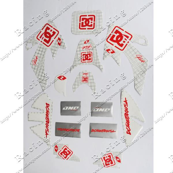 Free shipping dirt bike graphic 3M stickers for XR50 CRF50 pit bike Mini motocross decals wholesale hot(China (Mainland))