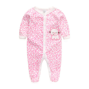 Free Shipping Baby Rompers Foot Cover Baby Girl's Pajamas Romper Newborn Feet Cover Sleepwear Body suits One-piece Romper