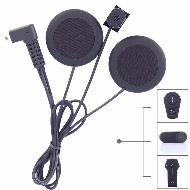 (1pc) 2016 Soft Headphone with Microphone ONLY Suit for FDCVB T-COMVB TCOM-SC Motorcycle Bluetooth Helmet Intercom Headset(China (Mainland))