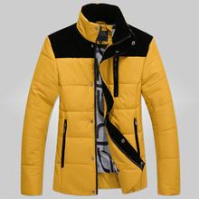 Winter duck down jacket men 2015 winter wear down cotton-padded jacket new men's fashion feather coat winter coat men's clothes