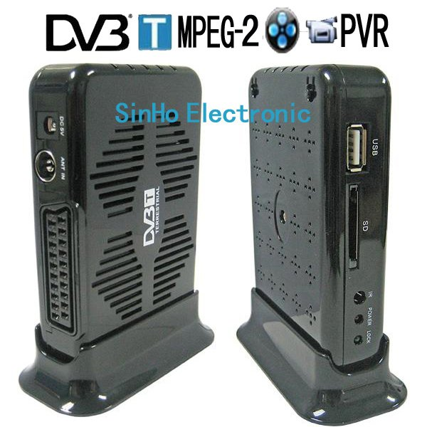 DVB-9016/Support SD Card Mini Scart Terrestrial Receiver Tv Tuner Dvb-t Freeview Receiver Box HDTV(China (Mainland))
