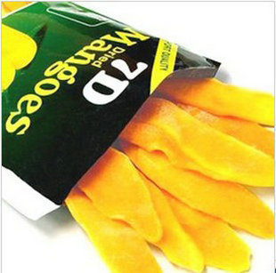 Philippine dried mango 7d dried mango snacks Dried Fruit food 100g free shipping