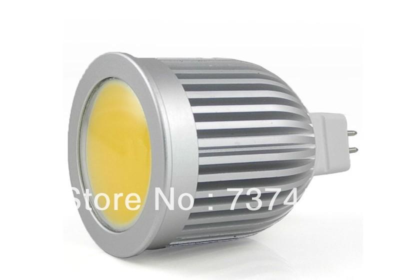 Hotselling MR16 10W LED COB Spot Light 900Lumens Warm white/Cool white Free Shipping(China (Mainland))