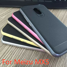 Upgraded version Bumblebee Hybrid phone case For Meizu MX5 High quality PC frame+Silicon Protector back cover for Meizu MX 5