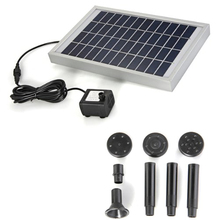 Solar Energy Water Pump Panel for Fountain Pond 12V 380L / H(China (Mainland))