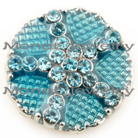 D01949 50pcs/lot 2015 High quality wholesale styles 18mm Metal Snap Button Charm Rhinestone Styles diy Button Snaps Jewelry<br><br>Aliexpress