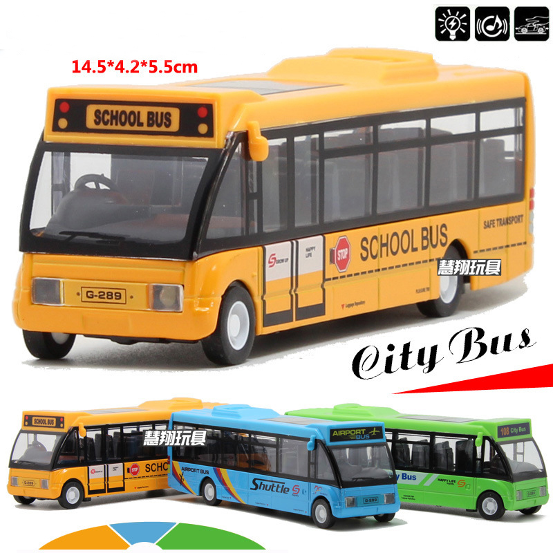 Specials Diecast Metal model 1:32 Alloy pull back school bus gift toy cars MiNI alloy car toys free shipping(China (Mainland))