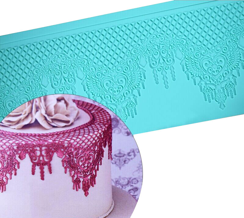 New Silicone Fondant Mat Cake Decorating Styling Tools ...