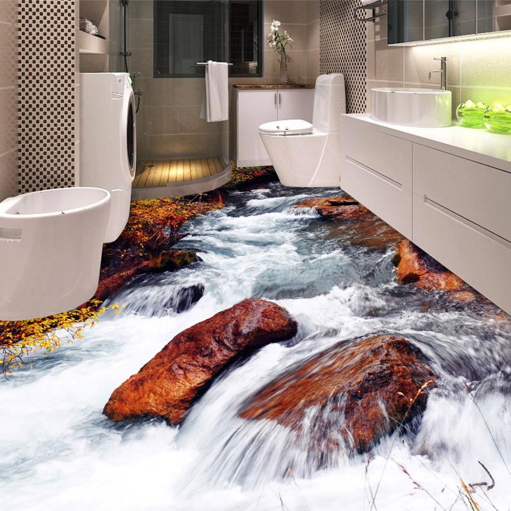 Achetez en Gros Salle de bains autocollants d'eau au sol en ...