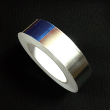 1Roll  30mm*40m Aluminum Al Foil Tape Adhesive Joint Sealing  Free shipping(China (Mainland))