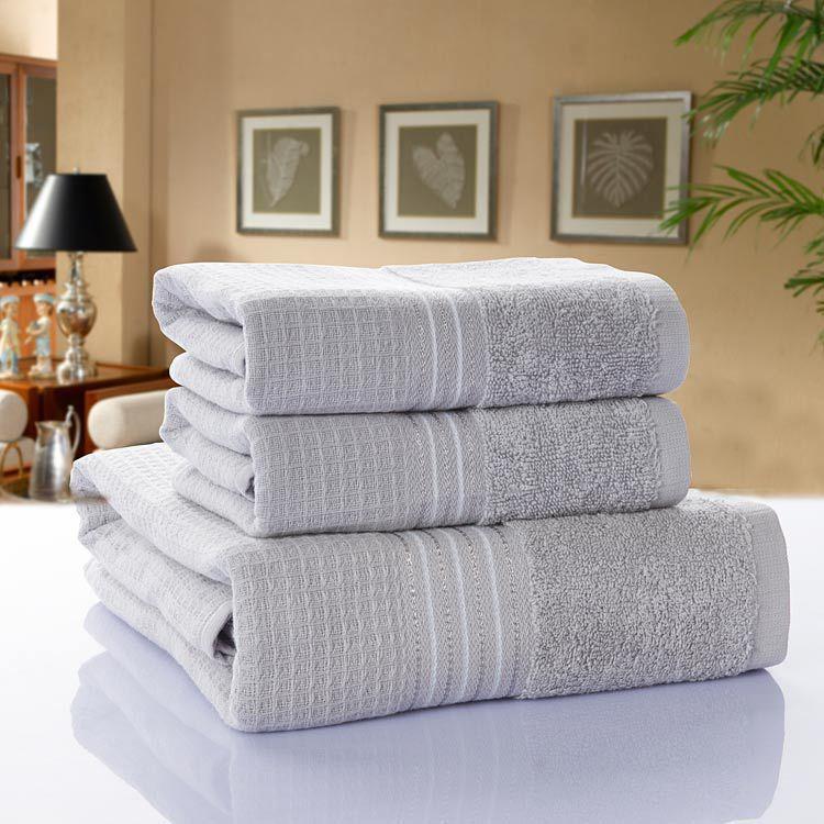 Sponge bath towel Stock cotton gauze high-grade art short cotton towel couples children soft package mail(China (Mainland))
