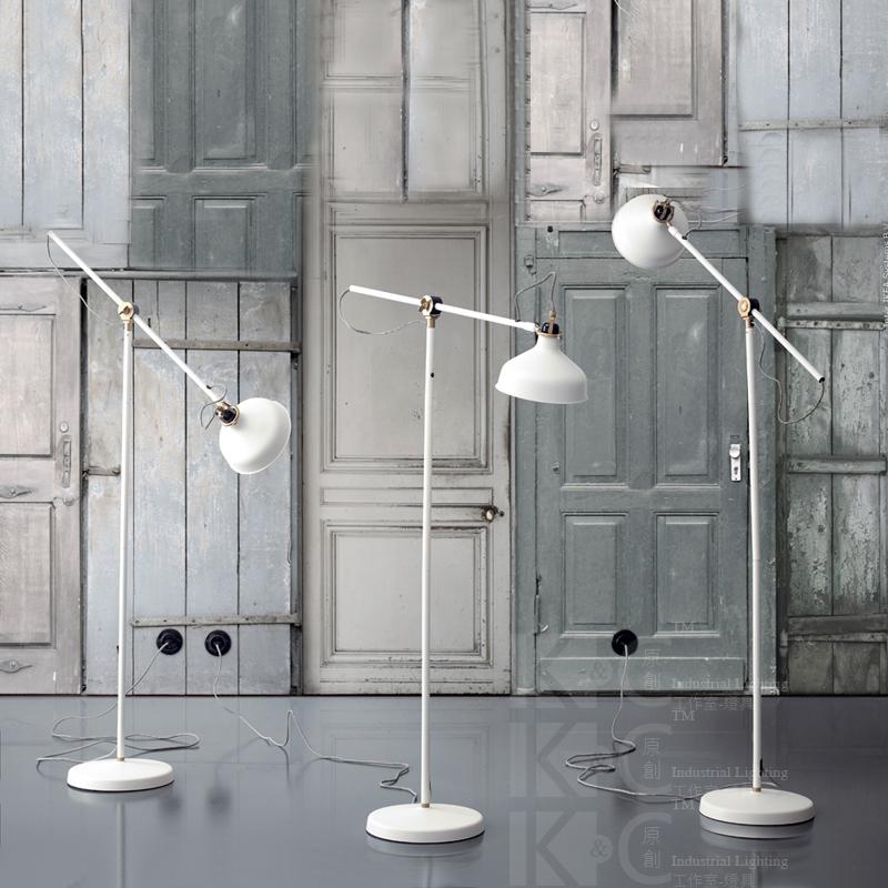 White Living Room Lamps: The Nordic IKEA Copper Containing Retro Diffuse Coffee