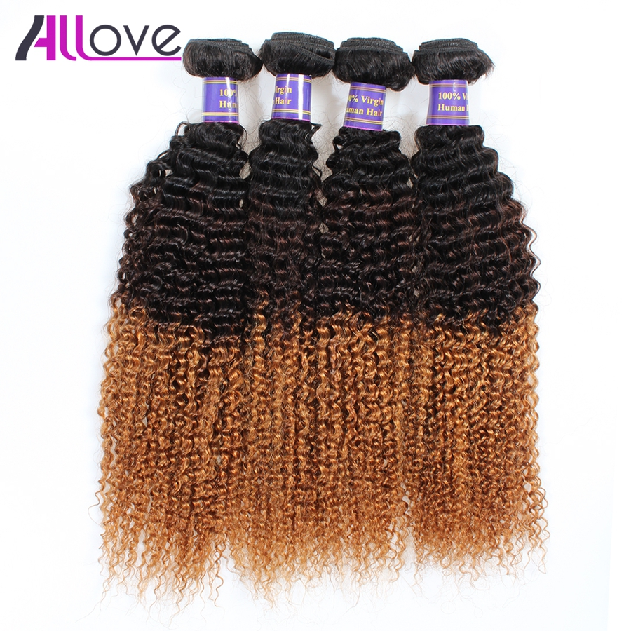 Tight Afro Kinky Curly Human Hair Weave 4 Bundles Mongolian Kinky Curly Hair Extensions Unprocseed Mongolian 7A Kinky Curly Hair