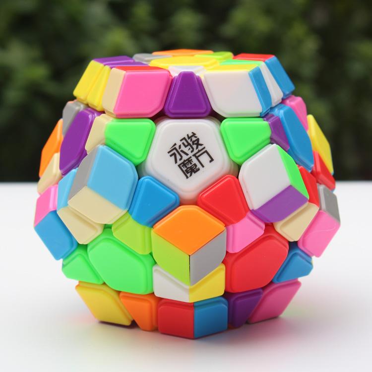 [Speed Demon Cube Store]MoYu&YJ(YongJun) YuHu Megaminx toys magic Cube Puzzle(China (Mainland))