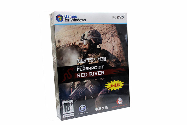 2015Original box PC games Flashpoint 3: Red River windows Serial Number FPS DVD sofwares - Professional Software Shop store