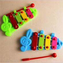 New Fashion Baby Child Kid Xylophone Musical Toy Wisdom Development Educational Toy Musical Instrument(China (Mainland))