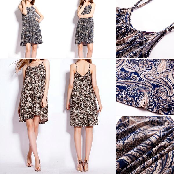 Women Cotton Long Camisole Tunic Loose Spaghetti Tank Top Beach Summer Dress(China (Mainland))