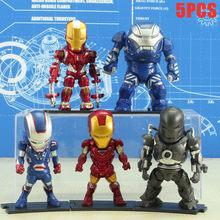 Anime figura 4 Vingadores Marvel venom spiderman Homem De Ferro Hulk/Anti-Hulk Edição Q 10 CENTÍMETROS Decoração Do Carro brinquedos modelo boneca de brinquedo figma(China)