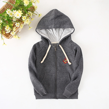 2016 New Children's Clothes For Boys  Thicken Hoodie Biker Jacket And Sweatshirts For Winter Base Shirt(China (Mainland))